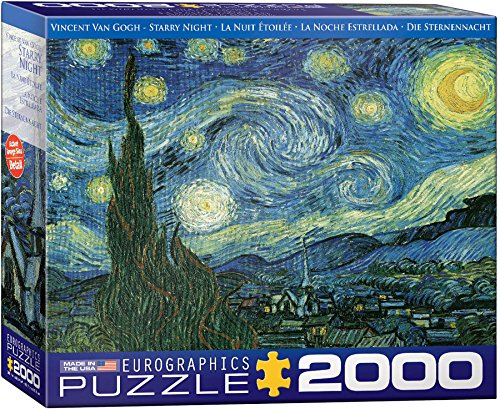 Eurographics  Starry Night / Vincent Van Gogh EG82201204 Puzzle, 2000 pezzi