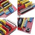 KOOKYE CNC Scheda di espansione per incisore, con scheda e 4 driver motori A4988, con kit dissipatore di calore per Arduino