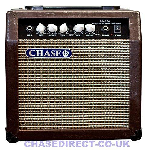 Chase CA-15A 15 Watt Acoustic Guitar Amplifier Practice Amp