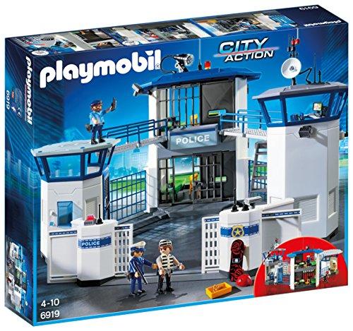 Playmobil 6919 Polizeistation mit Gefängnis, Spielset