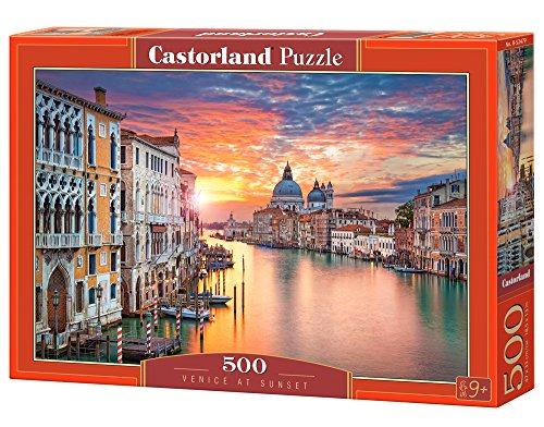 Castorland b-52479Venezia al Tramonto Premium, Puzzle da Pezzi