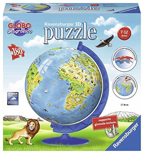 Ravensburger Italy Puzzle 3D Globo Geografico, 12340 7
