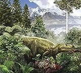 Jan Sovak/Stocktrek Images – Alioramus feediing on the carcass of a dead animal. Photo Print (76,20 x 68,58 cm)