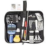 147 Pezzi Kit Ripara Orologi Riparazione Orologio Orologiaio Professionale Watch Repair Tool Set