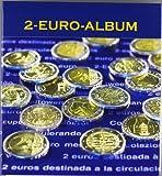 Münzenalbum für 2-Euro-Gedenkmünzen. Ab Griechenland 2004