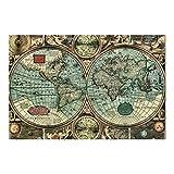 Vliestapete Die alte Welt, Größe: 255cm x 384cm
