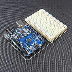 Placa acrílica de pruebas sin soldadura para Arduino UNO R3