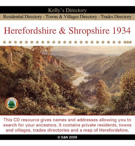 Kelly's Directory of Herefordshire and Shropshire 1934