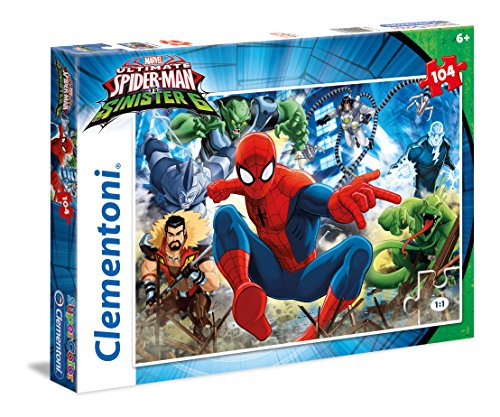 Spiderman 27988 - Puzzle 104 Ultimate Spiderman