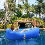 divano galleggiante gonfiabile mare piscinai