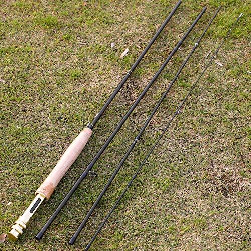 CHASO Canna da Pesca 9'# 5 2.74M Fibra di Carbonio Peso Ultraleggero Canna da Pesca A Mosca Attrezzatura da Pesca sul Lago