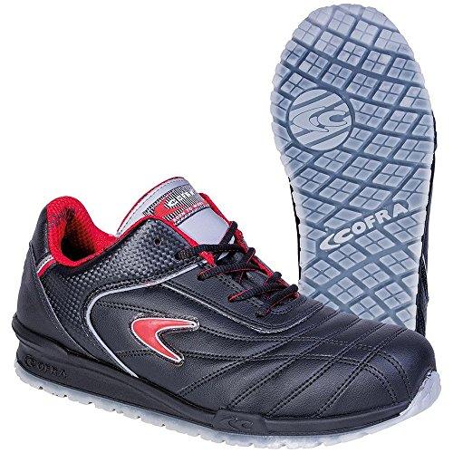 """Cofra 78430-000.w42Talla 42s1P SRC Meazza""""zapatos de seguridad, color negro"""