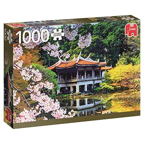 Jumbo 618361 - Puzzle Piena Fioritura in Giappone