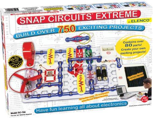 Snap Circuits Extreme SC-750 - Juego de construcción de circuitos