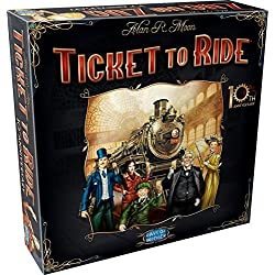 Ticket to Ride 10th Anniversary Edition - Juego de mesa (Days of Wonder DOW720121) (versión en alemán)