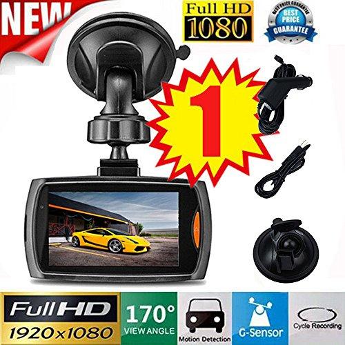 Dash Camera ,COLORFUL(TM)1080P 2,4'' HD DVR Fahrzeug Kamera Dash Cam Video Recorder G-sensor Nachtsicht