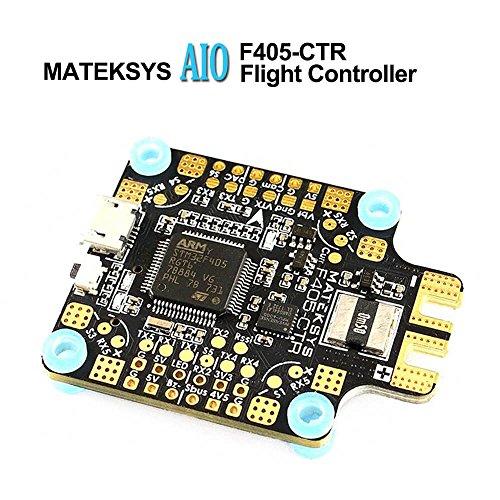 LITEBEE Matek AIO F4 Flight Controller + PDB 4*30A + Bateflight OSD + BEC 5V/2A 9V/2A Integrato...