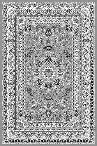 Tappeto orientale collezione Marrakesh, design orientale-europeo, classico e moderno, Polipropilene,...