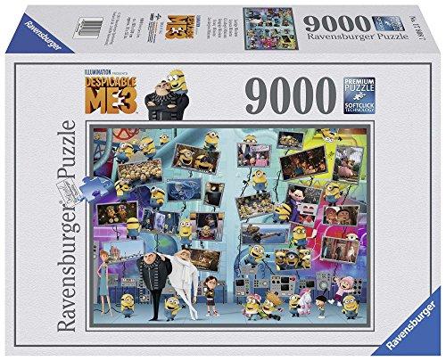 Ravensburger 17808 - Cattivissimo Me 3 Puzzle, 9000 Pezzi