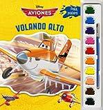 Aviones. Pinta pósters con acuarelas: Volando alto (Disney. Aviones)