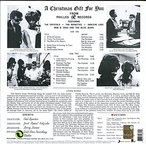 A Christmas Gift For You From Phil Spector.A Christmas Gift For You From Phil Spector Vinyl