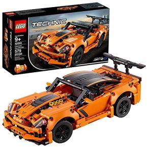 LEGO 42093 Technic Chevrolet Corvette ZR 1 Modelo de Coche de Carreras 2 en 1, Juguete de Construcción para Niños a…