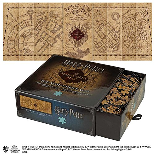 Noble Collection Marauders Map 1,000pc Jigsaw Puzzle