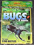 National Geographic Real-Life Bugs & Insects Magazine Issue 29 Stag Beetle