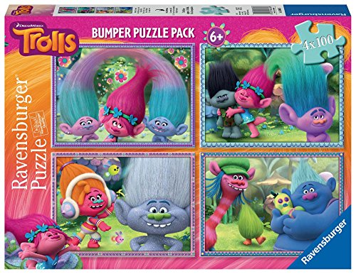 Ravensburger Italy Trolls Puzzle in Cartone, 06861 6