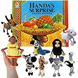 Handa's Surprise - Book and Finger Puppets Set