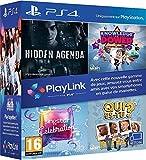 Pack Jeux PlayLink PS4: Qui es tu ? + Knowledge is Power + SingStar Celebration + Hidden Agenda