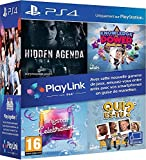Pack Jeux PlayLink PS4: Qui es tu ? + Knowledge is Power + SingStar Celebration + Hidden Agenda