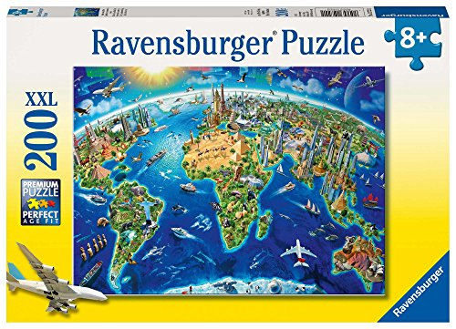 Ravensburger Vista dall'Alto - Puzzle 200 Pezzi