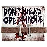 Walking Dead Dont aperta cinturino con bottoni Grigio portafoglio