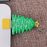 Non-brand USB Flash Drive Memory Stick Thumb Almacenamiento Pendrive Árbol de Navidad - Verde-32gb