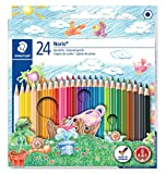 Staedtler Noris Club - Pack de 24 lápices de colores