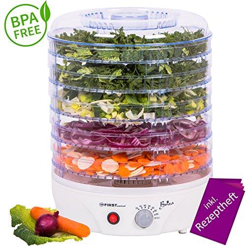 Deshidratador con controlador de temperatura 240 W para fruta