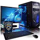 "Vibox - VBX-PC-1528 - Centre Paquet 10 Unité centrale Gaming Ecran Non tactile 21,5""(54,61 cm) Néon Bleu (AMD Athlon 64 fx, 8 Go de RAM, 1 To, AMD Radeon HD 8370D )"