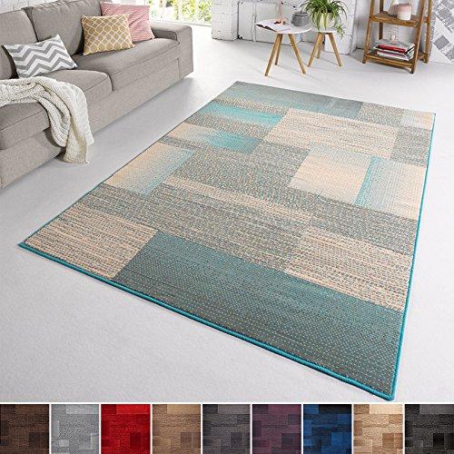 TeppichBoss Velluto Design Tappeto 'Marble' | a Pelo Corto Grigio, Tortora, Marrone, Cacao,...