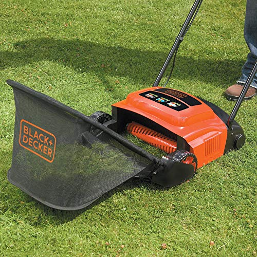 The Black + Decker lawnraker does an excellent job at removing moss and thatch but it does have its limitations, which are reflected in the price of the product.