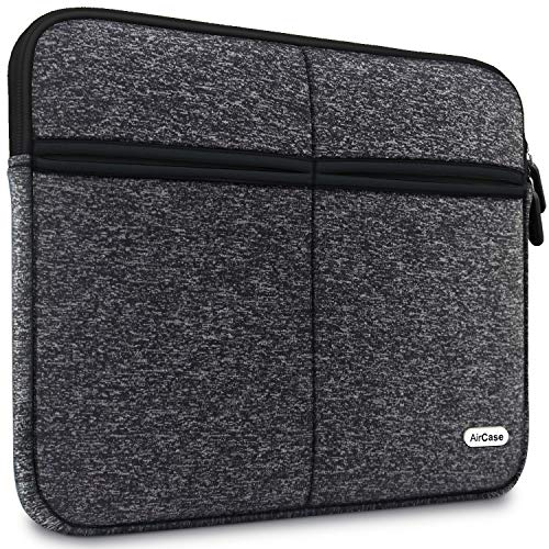 AirCase Laptop Bag Sleeve Case Cover for 13-Inch/ 13.3-Inch Laptop MacBook | 6-Multi Pockets (Ash)