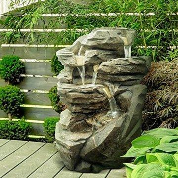 Zen Luz CFS RG58 Niagara Grand Garden Pierre Fontaine 54 x 42 x 70 cm 4