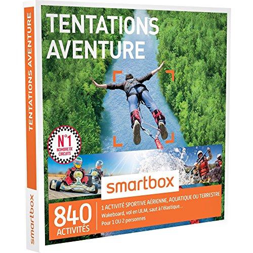 smartbox coffret cadeau tentations aventure 840. Black Bedroom Furniture Sets. Home Design Ideas