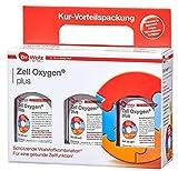 Zell Oxygen Plus Kurpackung |mit Vitaminen für eine gesunde Zellfunktion | Regeneration | 3 x 250 ml