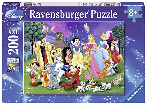 Ravensburger Italy Classics I Miei Preferiti Disney Puzzle, 200 Pezzi, 12698