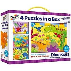 Galt America Toys Mi Primer Puzle, Dinosaurios, (Galt 1004735)