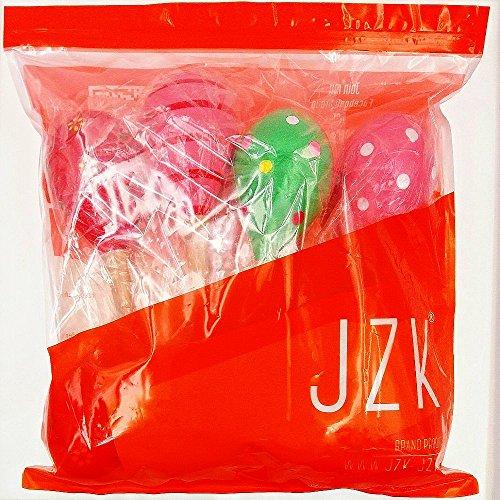 JZK 8 Maracas legno per bambini gioco musicale giocattolo legno bambino 1~6 anni sonaglio shaker gra