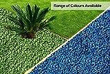 RockinColour - Pietre Decorative per Il Giardino, Colore: Azzurro Blu