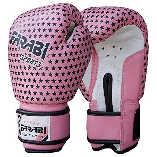 Farabi, guanti da boxe per Bambini, per Junior MMA, Muay Thai, kickboxing, guanti per allenamento...