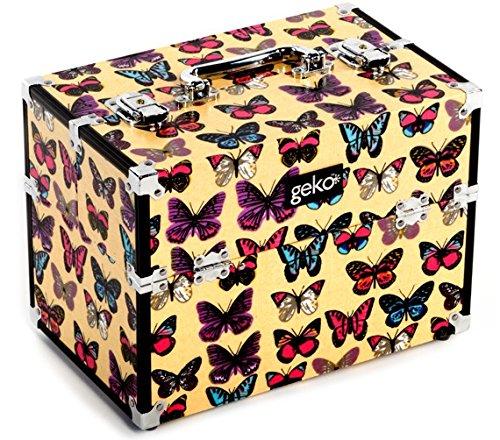Geko neceser maquillaje Caja mariposa Print